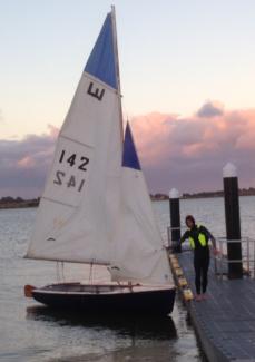 National E Sailing Skiff
