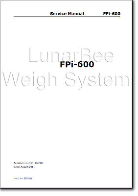 Service Repair Manual Parts Book Franco Post Fpi-600 Neopost Ds35 Hasler M1500