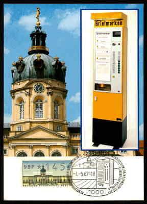 BERLIN ATM MK SCHLOSS CHARLOTTENBURG MAXIMUMKARTE CARTE MAXIMUM CARD MC /m1177
