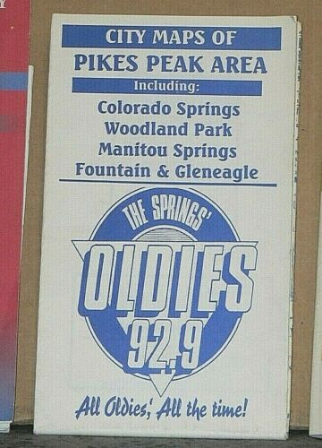 City Maps of the Pikes Peak Area