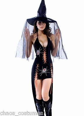 STOCK CLEARANCE Gothic Vampire Angel Underworld Spider Bride Halloween - Spider Bride Halloween Costume