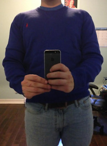 New Ralph Lauren Royal Blue Sweater