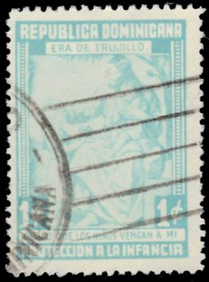 "DOMINICAN REPUBLIC RA13A - National Child Welfare Fund ""Postal Tax"" (pf2658)"