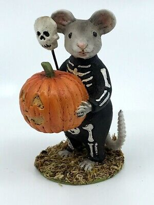 Bethany Lowe Designs: Halloween; Skelly Mouse; TD7625