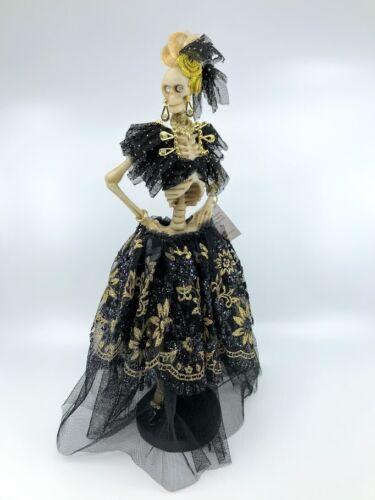 Mark Roberts Halloween: Fall Decor; Debutante Skeleton; 60-81900