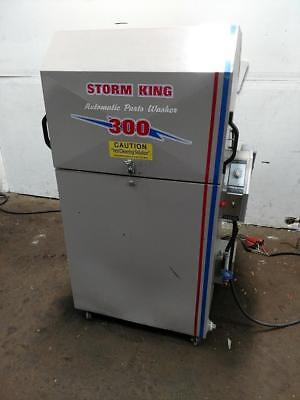 2012 Storm King Sk-300 Heated Parts Washer W Oil Skimmer 24 Turn Table 500lbs