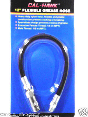 "12"" FLEXIBLE GREASE GUN FLEXIBLE  HOSE 12"""