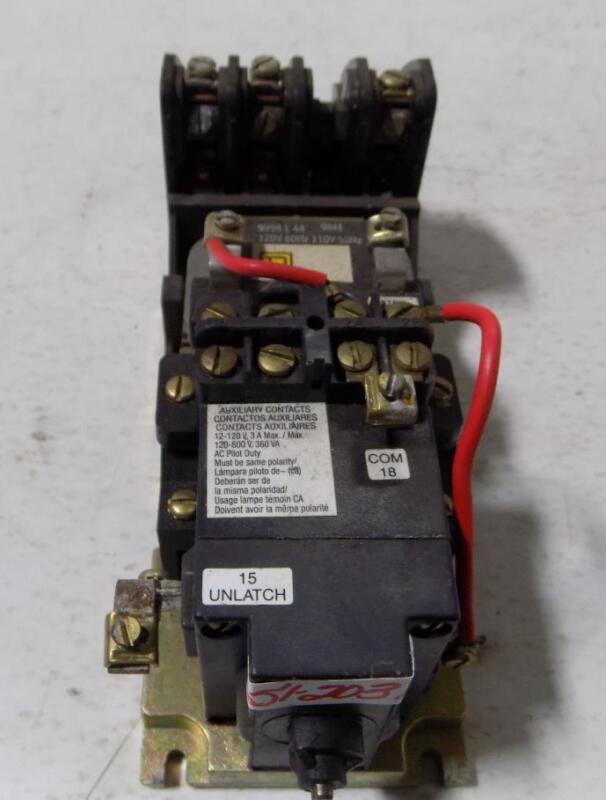SQUARE D LIGHTING CONTACTOR 8903 LX0 30 SERIES B