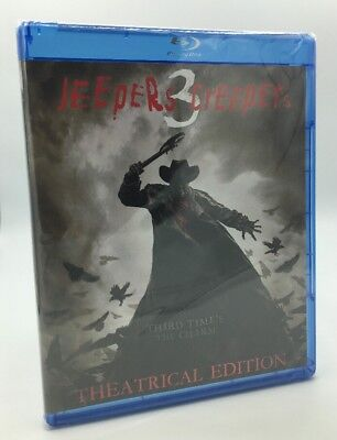 Jeepers Creepers 3 (Blu-ray Disc, 2017; Theatrical Edition) NEW - Halloween Movie 3 2017