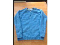 Joules light blue jumper UK 10