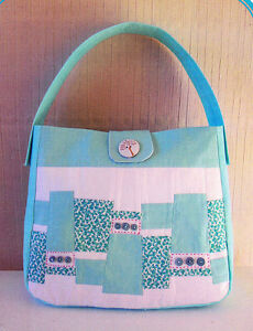 replica chloe purse - PATTERN - Chloe Bag - fun & easy bag PATTERN - mix & match fabrics ...