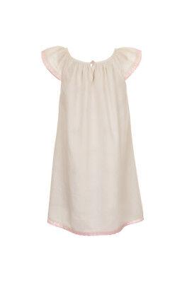 r Mädchen Kleid von Belle und Boo in der Natur Kinderkleid (Belle Kleid Für Mädchen)