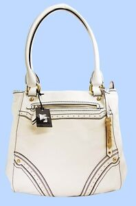 COLE-HAAN-BRITNEY-Ivory-Leather-Satchel-Shoulder-Bag-Msrp-378-FREE-SHIPPING