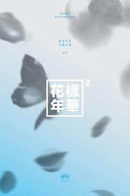 BTS ITMFL IN THE MOOD FOR LOVE Pt.2 BLUE Ver. 4th Album Bangtan Boys Brand New