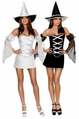 SEXY Halloween COSTUME Womens WHICH WITCH Adult REVERSIBLE Cosplay M](Which Halloween)