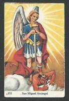 Estampa Antigua De San Miguel Arcangel Andachtsbild Santino Holy Card Santini -  - ebay.es