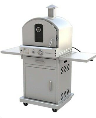 Pacific Living Stainless Steel Pizza Oven With Base. We Will Beat Any Price