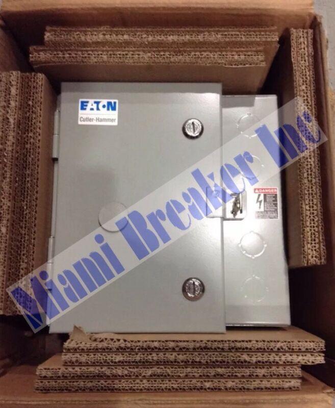ECT0101E3A Eaton/Cutler Hammer Contactor Enclosure NEMA Size 0 Motor Rated 600V