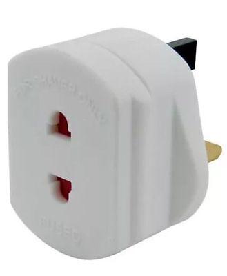 GB 1A Eléctrico Afeitadora Adaptador Cepillo Dientes Enchufe Conversor 2A 3 Pin