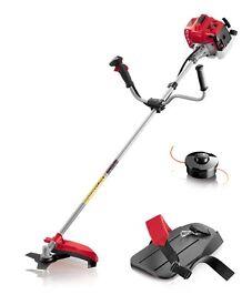 Sanli GTS43 Pro 43cc Petrol Brush Cutter / Strimmer (Twin Head) Pro Cow Handle! +WARRANTY! RRP £220!