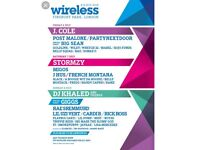 Wireless ticket for sale Friday& sat