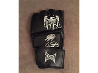 GSP signed mma glove