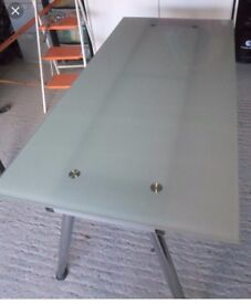IKEA Galant glass desk top ONLY