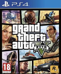 GTA 5 - PS4 - 40$ (Great Condition)