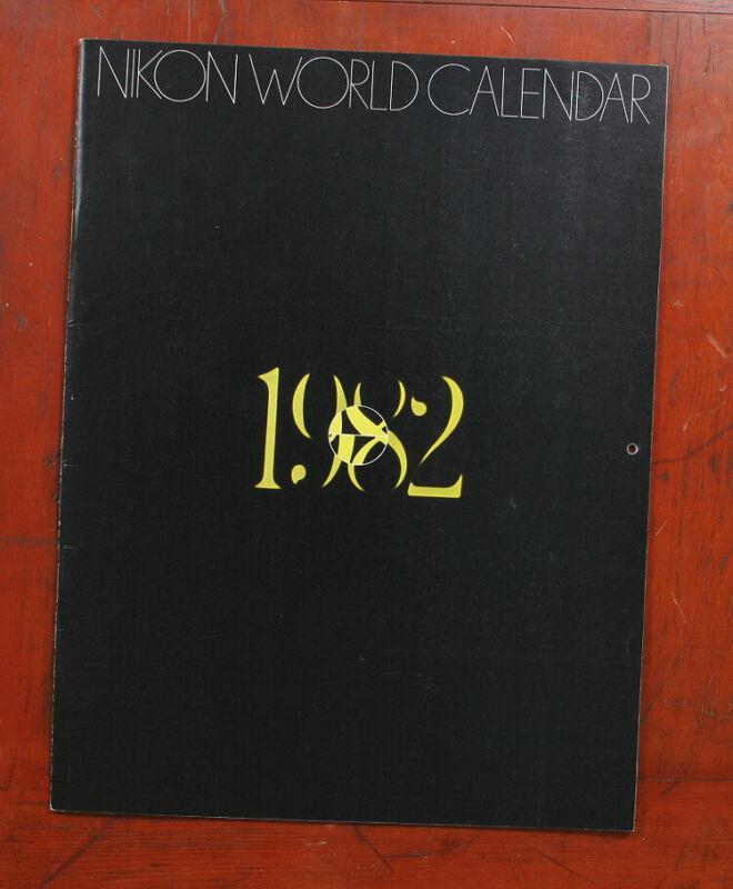NIKON WORLD CALENDAR 1982/124913