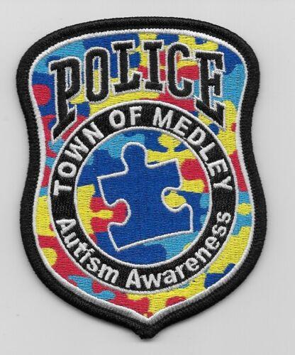 Autism Awareness Medley Police State Florida FL
