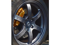 Alloy wheel repair fix weld paint refurbish dent crack kerbed damaged straighten air leak new colour
