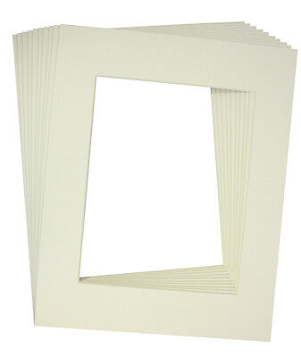 MISTY 10 Of 18x24 White Pre-cut Acid-free Whitecore Mat F...