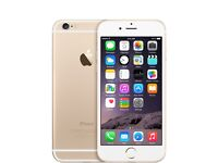 Factory Unlocked iPhone 6 16GB white/gold in mint condition fully boxed