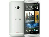 HTC ONE M7 UNLOCKED 16GB SILVER