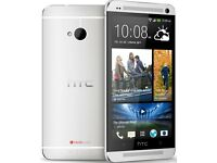 Brand New -- HTC One M7 - 4G LTE 32GB - Silver (Unlocked)