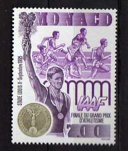 Monaco-1995-Final-Grand-Prix-d-Athletisme-Neuf-MNH