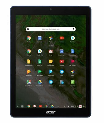 "Acer Chromebook Tab 10 - 9.7"" Tablet ARM Dual-core 4GB Ram 32GB Flash Chrome OS"