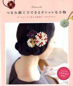 TRADITIONAL JAPANESE TSUMAMI Zaiku Items - Japanese Craft Book