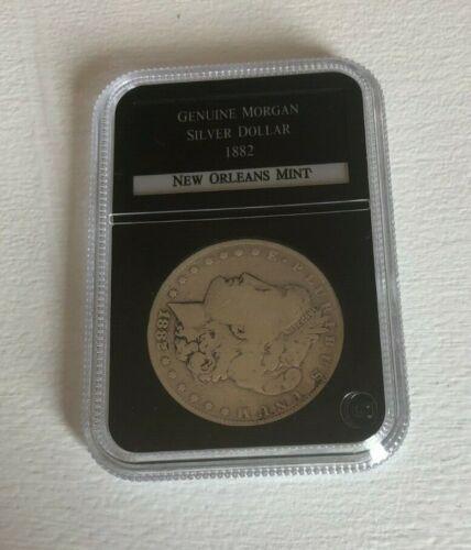 1882-O GENUINE MORGAN SILVER DOLLAR