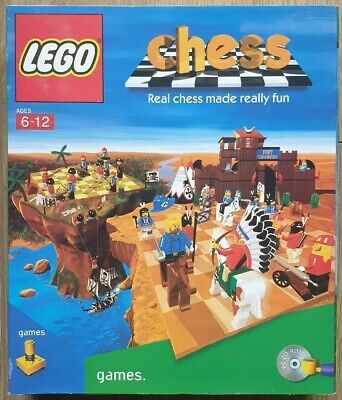 LEGO Chess Games PC CD-ROM Rare Big Box Computer Game (Used, Good) for sale  Shipping to Nigeria