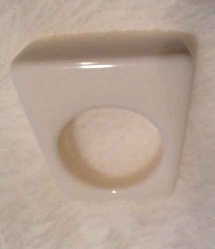 Lucite White Ring Size 8 1/2