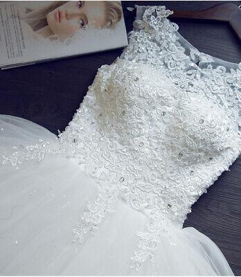 A-Linie Spitze Brautkleid Hochzeitskleid Kleid Braut Babycat amassment BC652