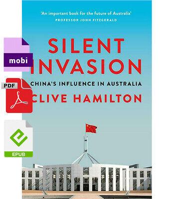 Silent Invasion: China's influence in Australia by Clive Hamilton P.D.F✅  e-воок