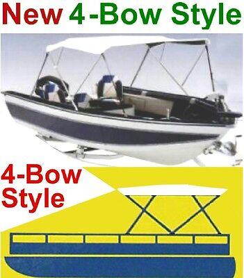 NEW 4 BOW BOAT BIMINI CONVERTIBLE TOP COVER,PONTOON 78