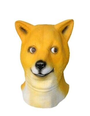 Funny Halloween Dogs (New Funny Dog Rubber Head Mask)