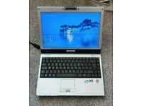Rock Asus Z37V NVidia Dual Core Laptop Win 10 DVD Webcam Good Battery SSD Cheap