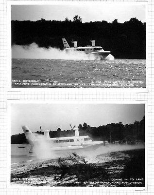 BC247 GB Hovercraft Service Postcard PTS