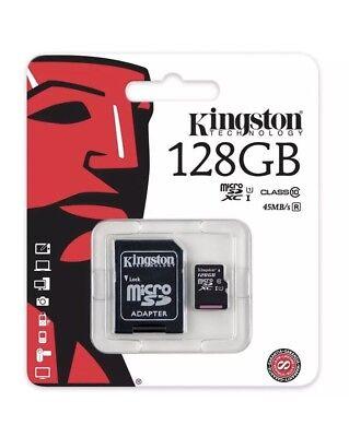 Kingston 128GB Micro SD SDXC MicroSD Class 10 128 G GB _ Memory Card