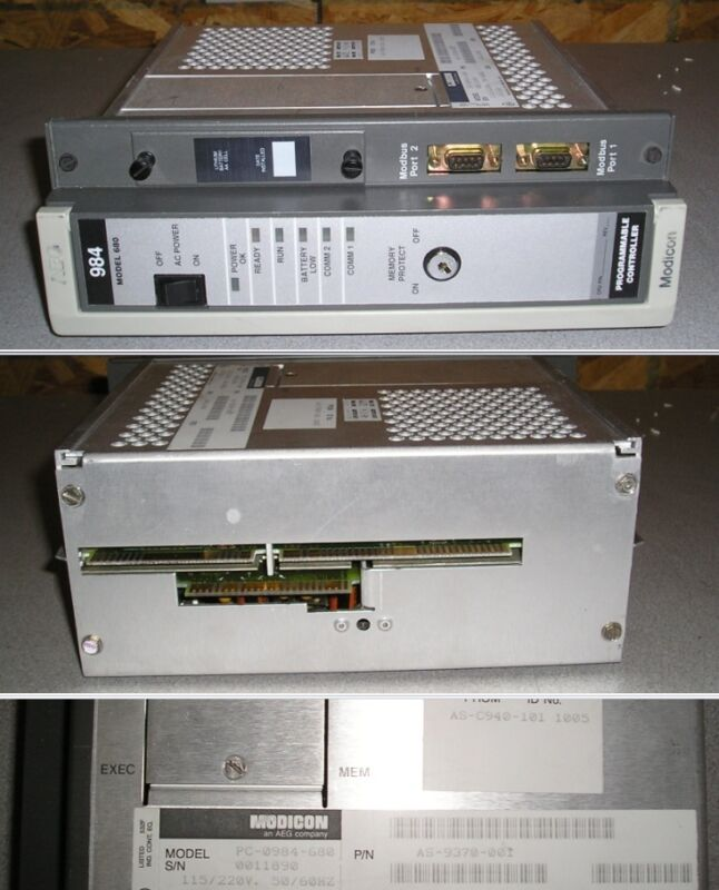 Schneider Electric AEG Modicon 984 680 PC-0984-680 Programmable Controller AS-93