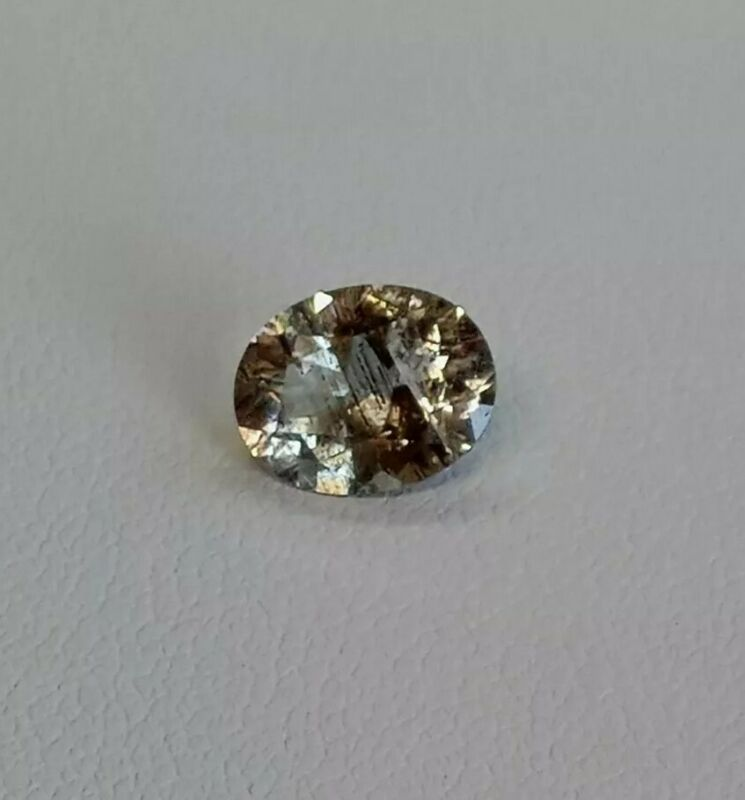 1.55ct Fine A+ Natural Scapolite Light Yellow Oval Cut 9x7mm #w09